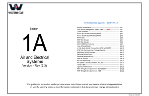 Air and Electrical Systems