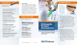 Orthopedic Product Development