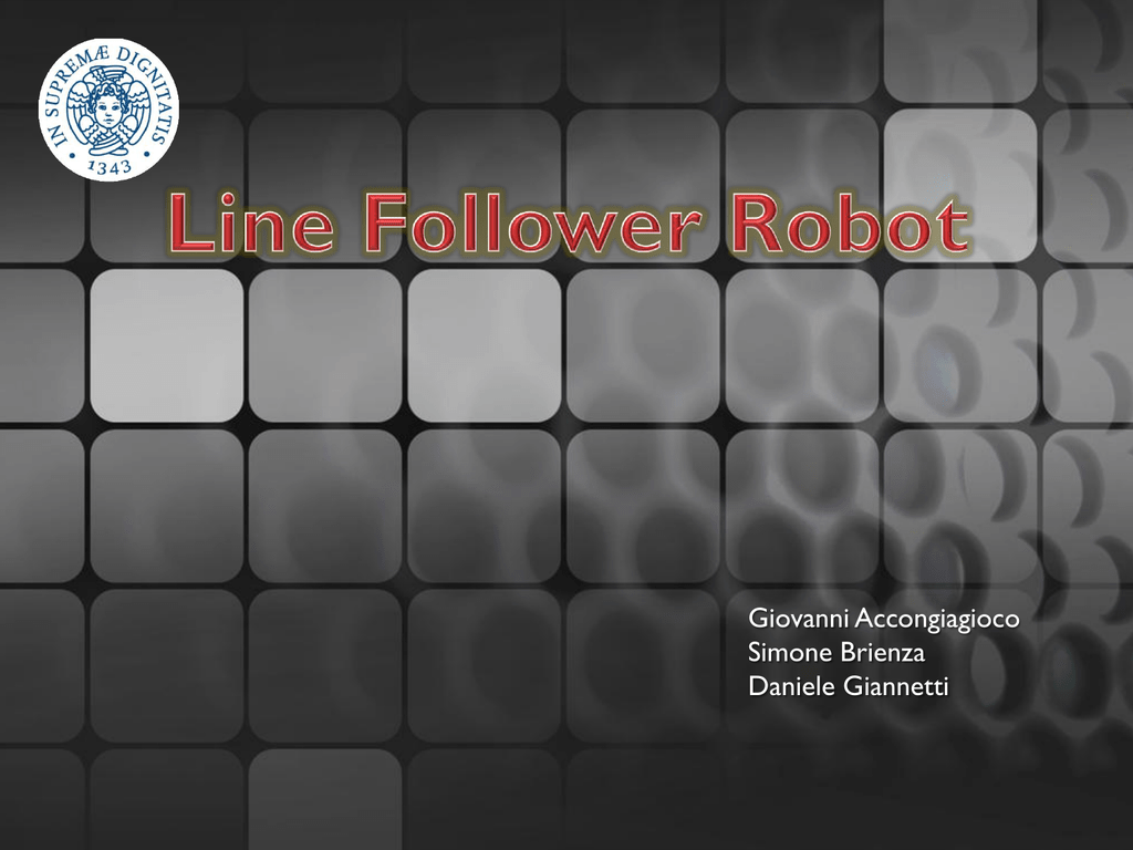 Line Follower Robot Daniele Giannettis Home Page 2 Transistor