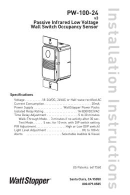 on wattstopper cl 200 wiring diagram