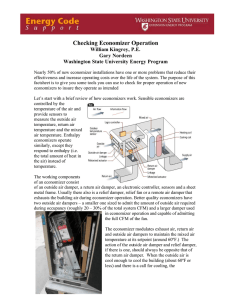 Checking Economizer Operation
