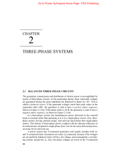 Three-phase Circuits