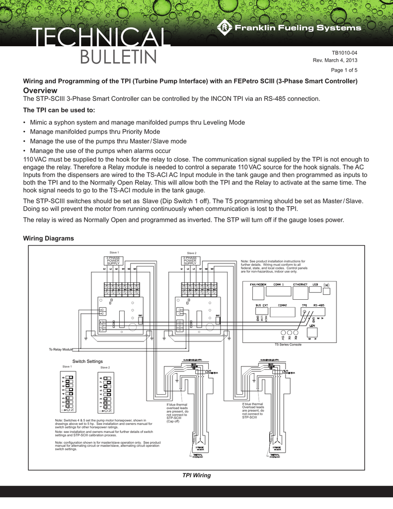 Pleasant Tb Wiring And Programming Of The Tpi Wiring Cloud Aboleophagdienstapotheekhoekschewaardnl