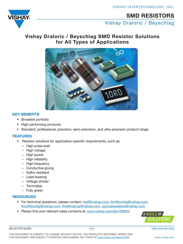 Smd Resistors Ultra High Precision 018079776 1 2b5cd549248fc991d1bc82e7cf51c050