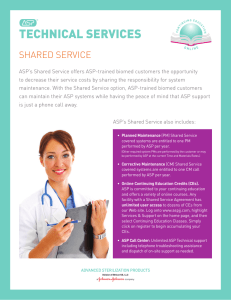 technical services - Advanced Sterilization Products