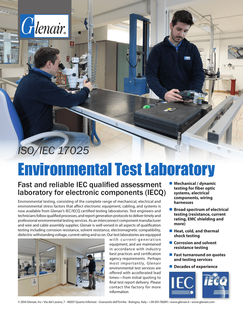 Environmental Test Laboratory Wiring Harness Design Jobs