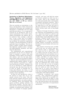 [Review published in SIAM Review, Vol. 58, Issue 1, pp. 164.]