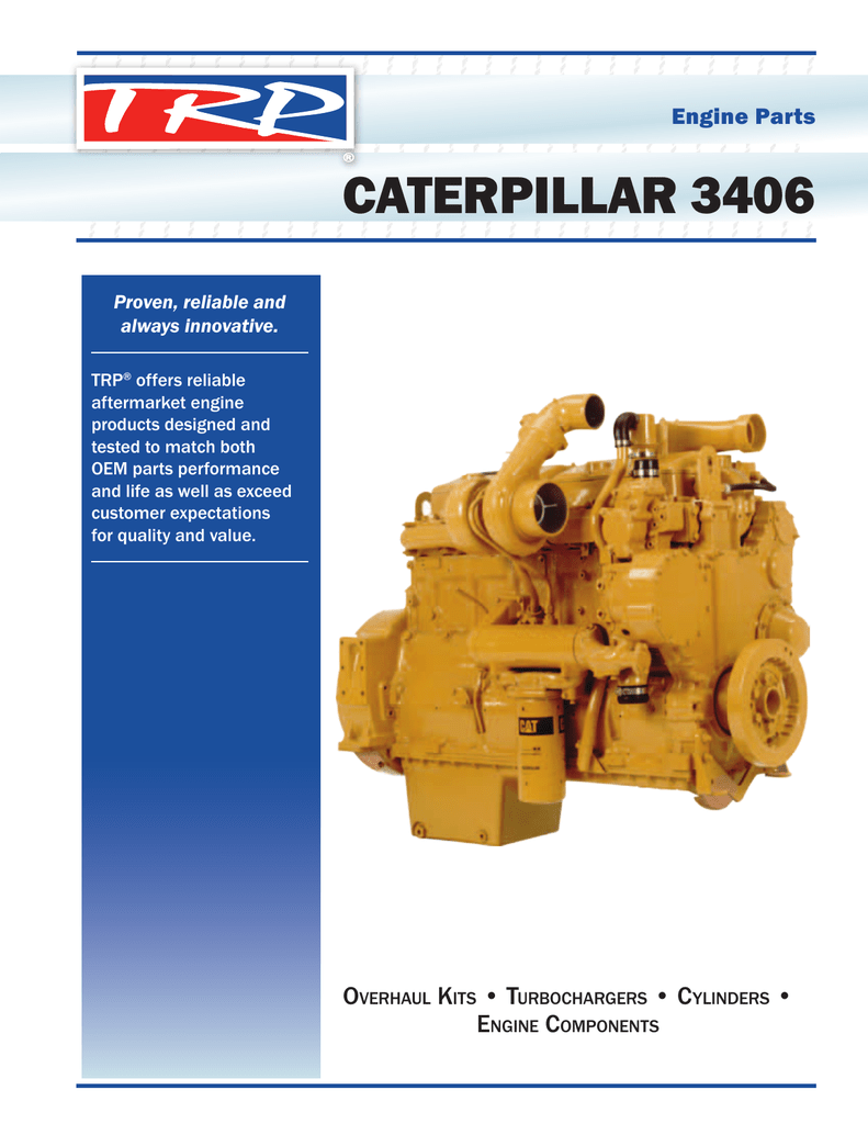 Engine Parts CATERPILLAR 3406