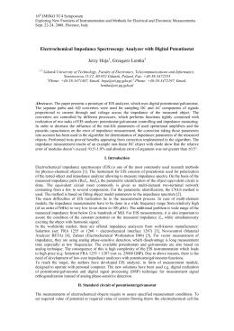 Electrochemical Impedance Spectroscopy Analyzer with Digital