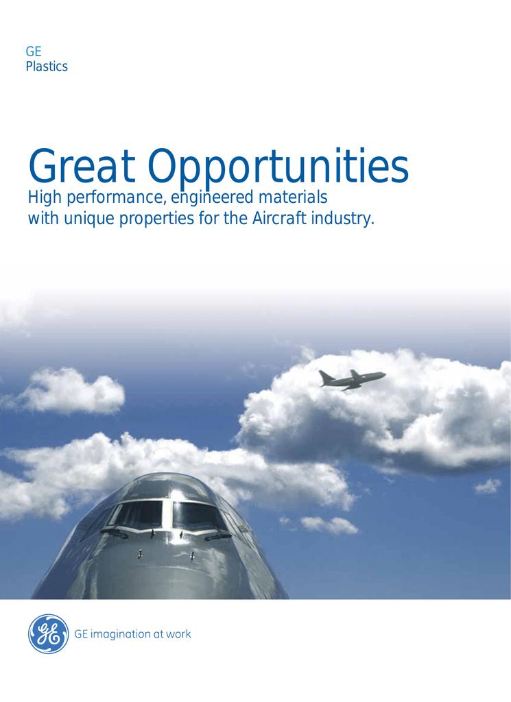 Aircraft Interior Brochure