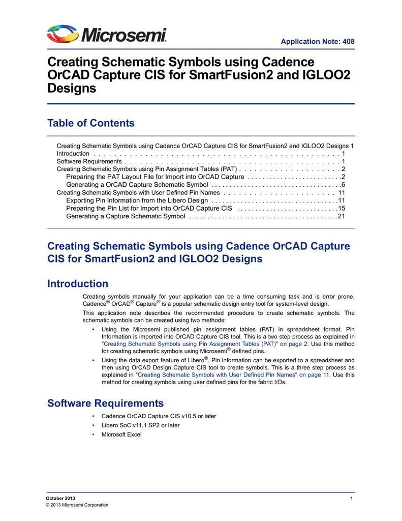 Creating schematic symbols using cadence orcad biocorpaavc Choice Image