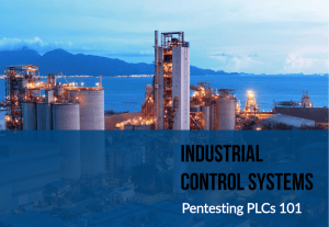 Introduction to Industrial Control Systems (ICS)