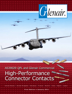 High-Performance Connector Contacts