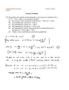 Practice problems Chapter 2