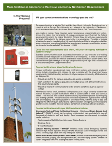 Mass Notification Solutions to Meet New Emergency Notification