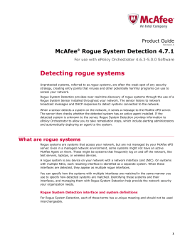 Mcafee agent 4.6 product guide