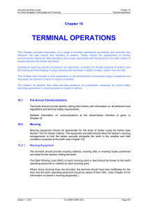 TERMINAL OPERATIONS