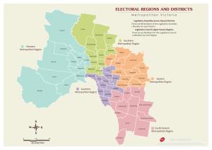 Metro - Regions and Districts - Victorian Electoral Commission