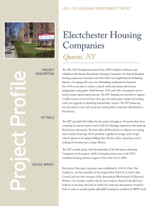 Electchester Housing Companies - AFL