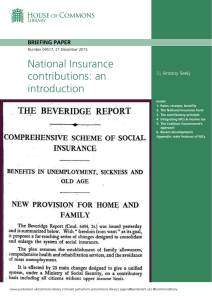 National Insurance contributions: an introduction