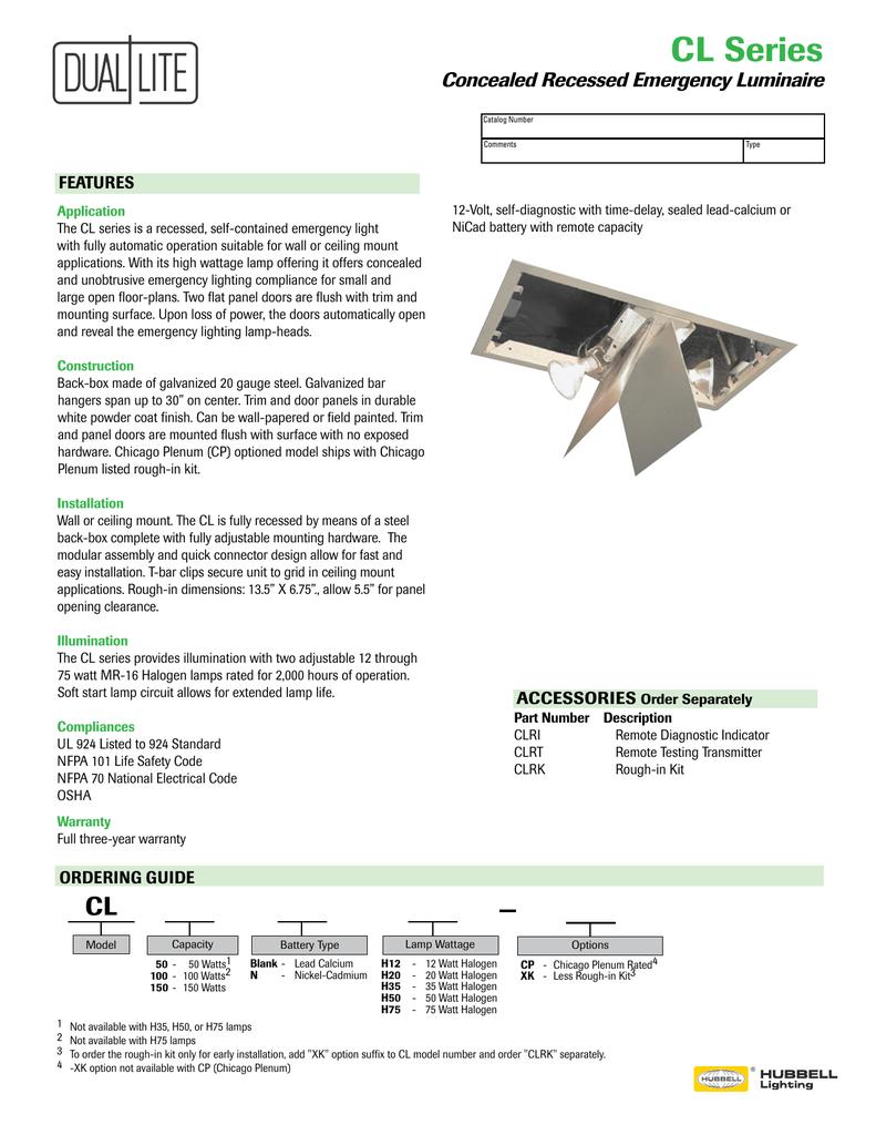 Cl Series Dual Lite Soft Start For 12 Volt Halogen Lamps