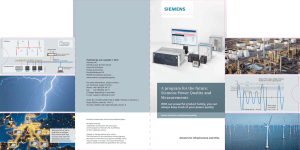 A program for the future: Siemens Power Quality and Measurements