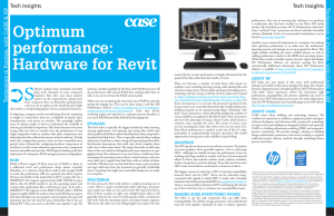 Optimum performance: Hardware for Revit