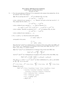 Homework #9 - UC Davis Mathematics