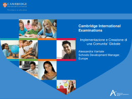 Cambridge International Examinations - Forum