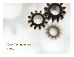 Core Technologies - eLearning Solutions