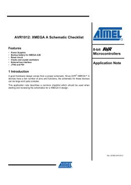 xmega b1 adc voltmeter, Schematic