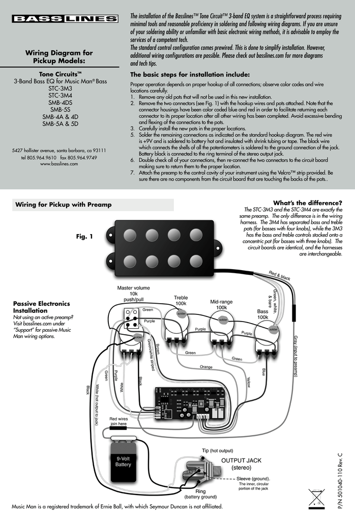 Enchanting Ernie Ball Wiring Diagram Picture Collection - Schematic ...