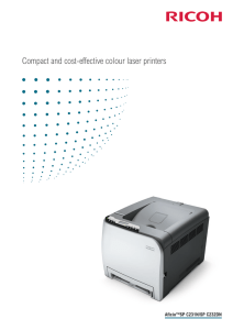 Compact and cost-effective colour laser printers