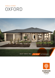 oxford - Rawson Homes