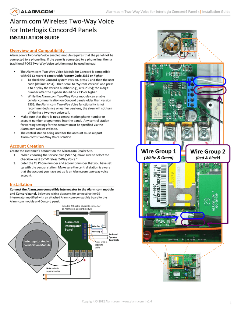 Concord 4 Alarm Wiring Diagram Electrical Simon Xt Interagator For Board House Usb Connector Com Wireless