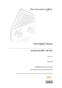 Digital Library Policy