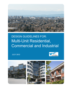 Multi-Unit Residential, Commercial and Industrial
