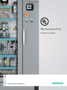 The Secrets of UL. - Automation Technology