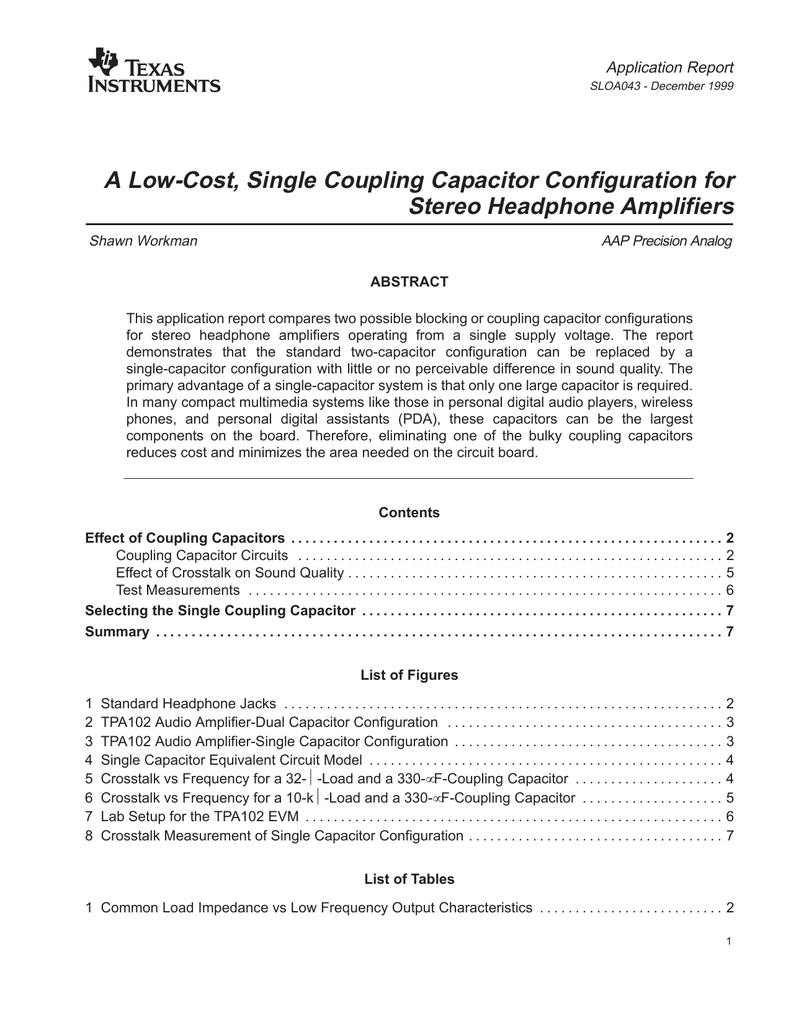 A Low Costsingle Coupling Capacitor Config Testing In Circuit