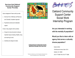 OCSC intern flyer.pub - Behavioral Health Care Services