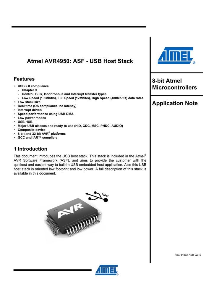 Atmel AVR4950: ASF