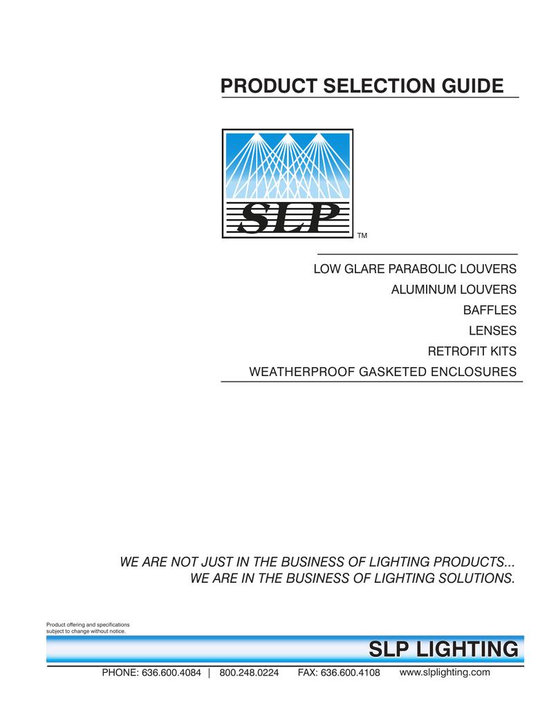 complete slp ordering guide