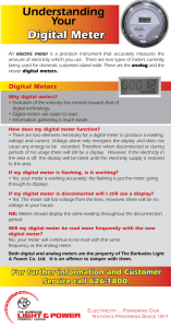 Digital Meters-B