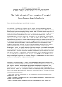 "What Tunisia tells us about Western conceptions of ""corruption"