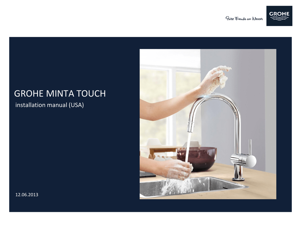 Meget GROHE MINTA TOUCH BZ89