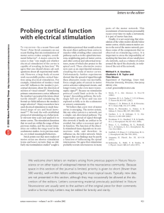 Probing cortical function with electrical stimulation