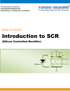 Introduction to SCR
