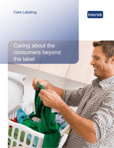 Caring about the consumers beyond the label