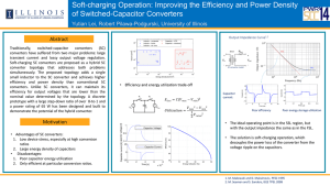 Optimization of Soft-Charging Switched-Capacitor