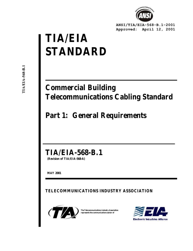 TIA/EIA-568-B.1